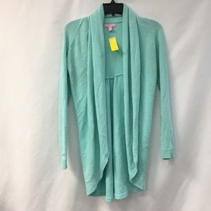 Lilly Pulitzer blue fly away cardigan